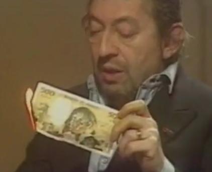 Brûler des billets de banque virtuels n'est pas interdit.