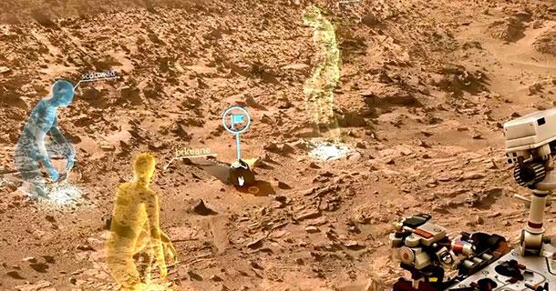 La NASA utilisera une technologie Microsoft pour piloter Curiosity sur Mars