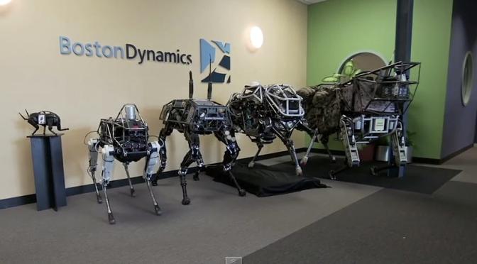 Spot : un nouveau né parmi les quadrupèdes de Boston DynamicsRobots, Drones et Intelligence Artificielle
