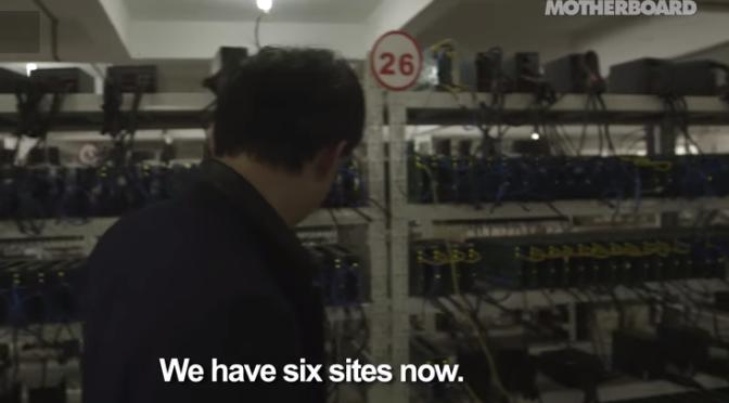 Vice filme une mine bitcoin en Chine