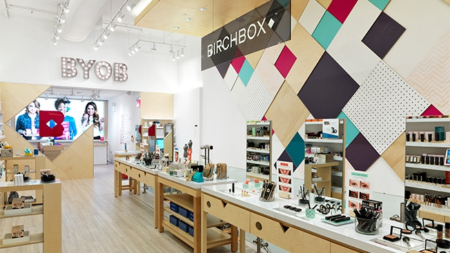 Birchbox pense utiliser l'IA dans le magasin traditionnel