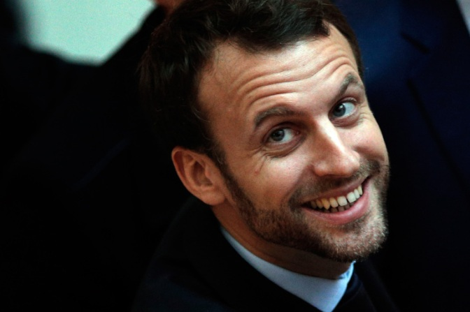 Macron : It is all about Internet Of Things | TechCrunch