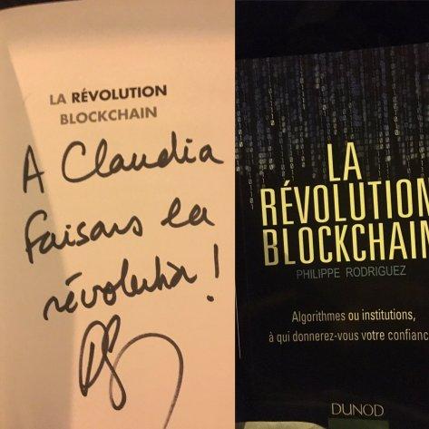 dédicace la révolution blockchain