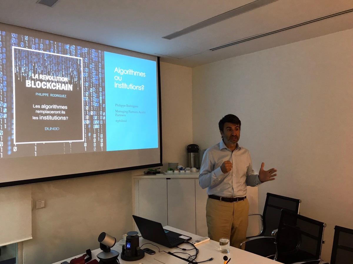 Singapour : Conférence Blockchain